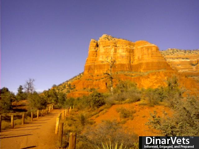 Bell Rock in Sedona, FUN CLIMB