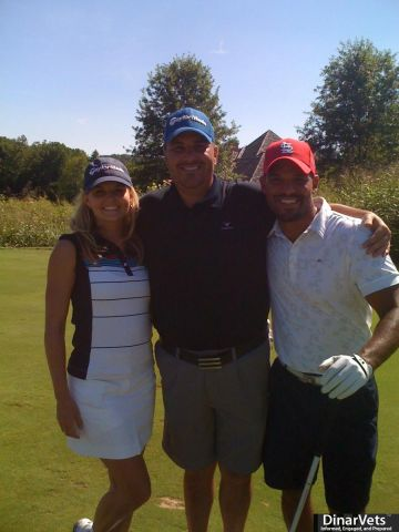Amaury Nolasco and Jennifer Morrison with me