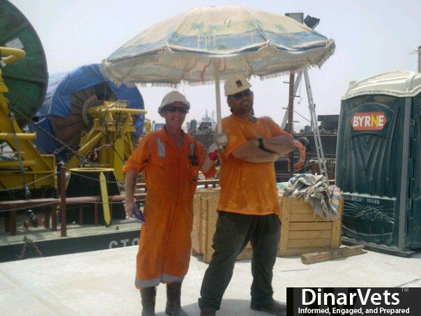 OFFSHORE IN IRAQ IN THIS PIC