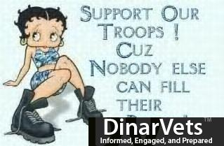 Support our troops.....
