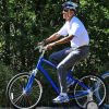 Obama w/ training wheels...