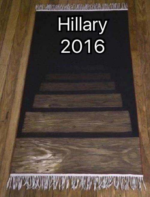 HillaryCampaignRug