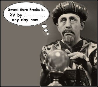 Swami RV Guru can predict darn near anything accurately because of
