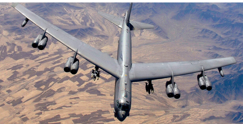 """U.S. Air Force B-52H Stratofortress bombers made a """"deliberate appearance"""" in the Middle East on Tue Image.png.efca1d768888cace059cfe94ca53cdb3"""